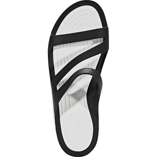 Crocs Swiftwater - Sandales Femme - noir sur campz.fr ! Vente Pas Cher Le Plus Récent mRkYuY6